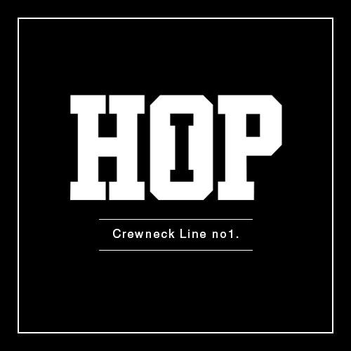 Crewneck Line no1.