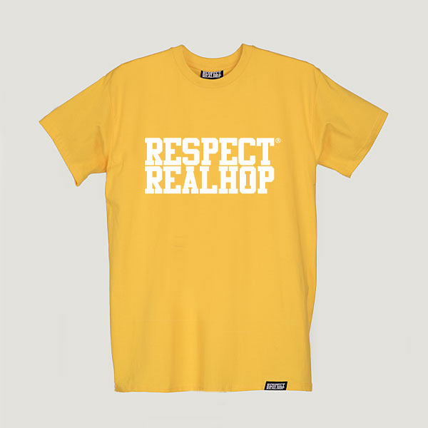 The Movement logo T-shirt [Yellow]