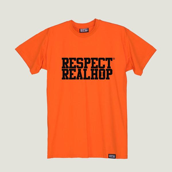 The Movement logo T-shirt [Orange]
