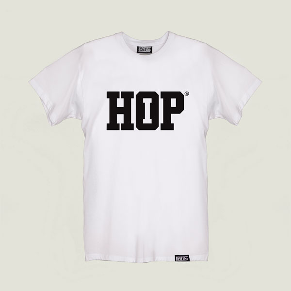 The HipHop logo T-shirt [White]