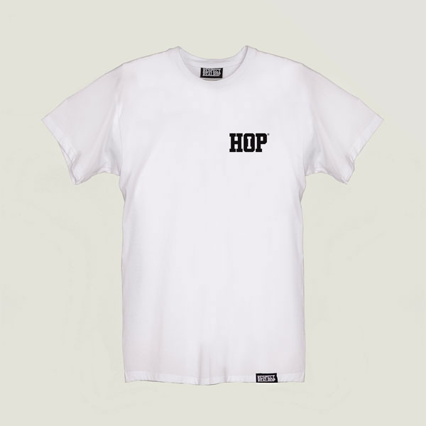 Solid HipHop logo T-shirt White