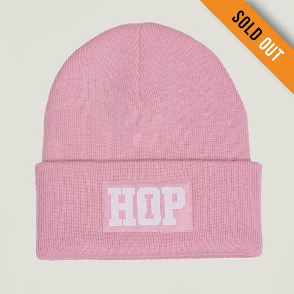 Classic Beanie HipHop logo: Pink (ELFOGYOTT)