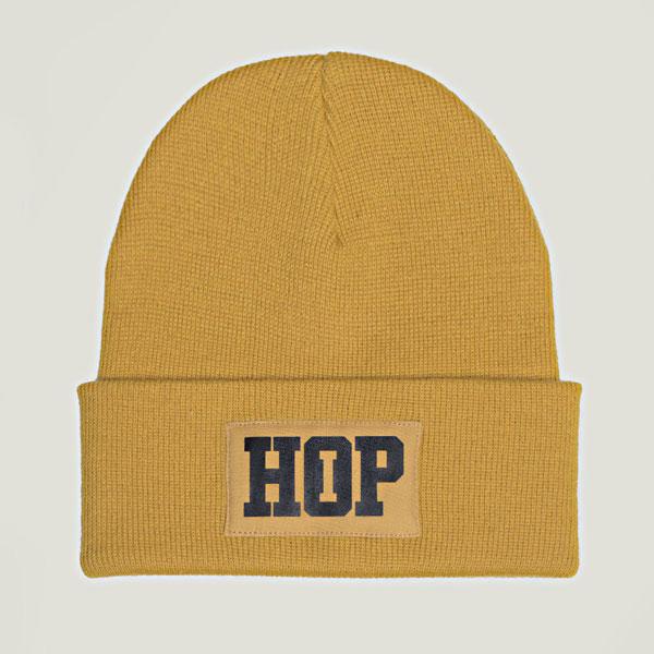 Classic Beanie HipHop logo: Ocher