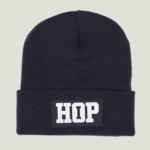 Classic Beanie HipHop logo: Navy