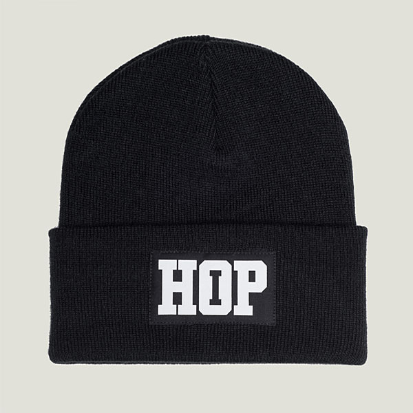 Classic Beanie HipHop logo: Black