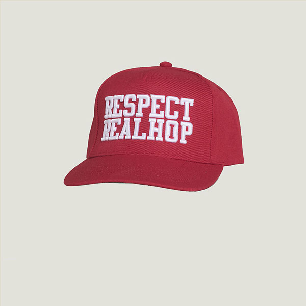 The Movement Snapback [Red& White]