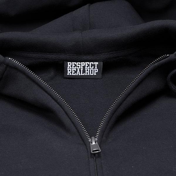 The HipHop logo Hoodie[Black]