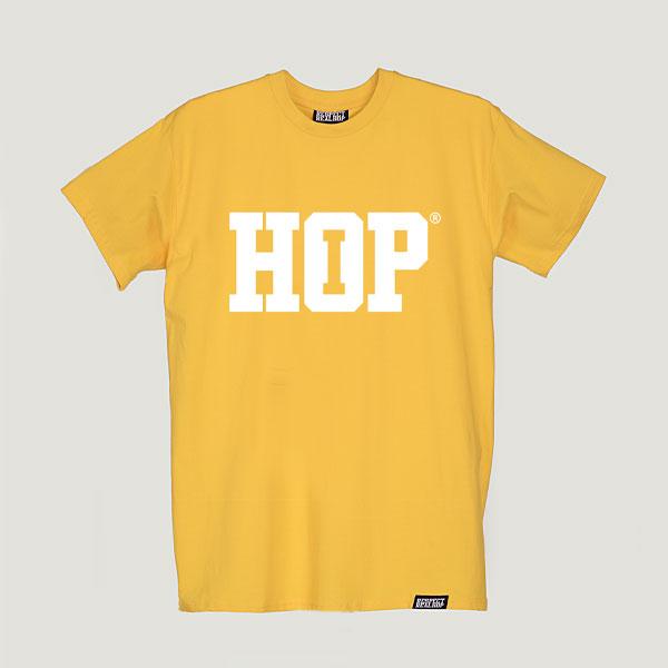 The HipHop logo T-shirt Yellow