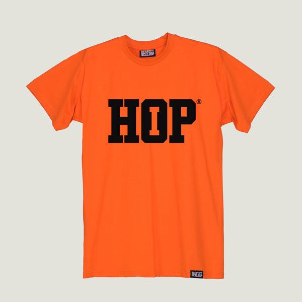 The HipHop logo T-shirt [Orange]