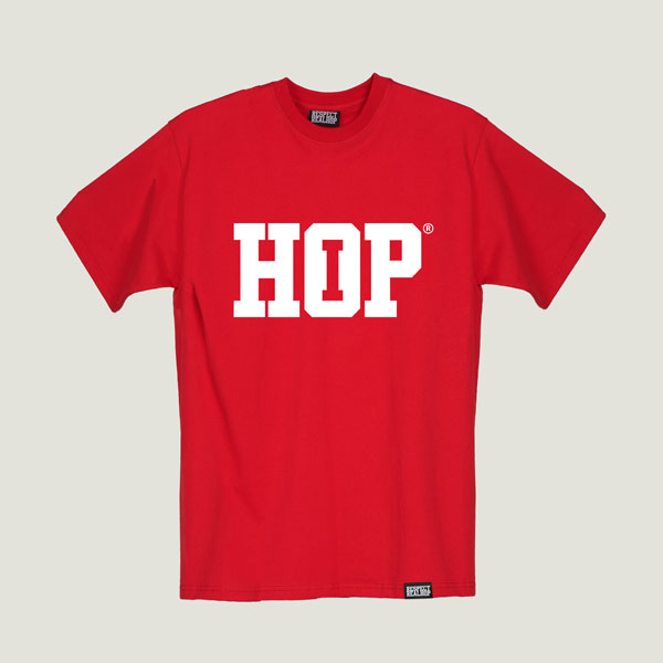 The HipHop logo T-shirt [Red]