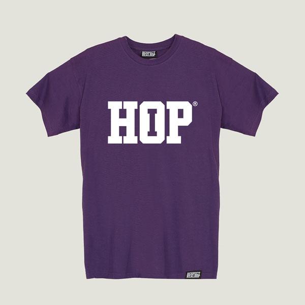 The HipHop logo T-shirt [Purple]