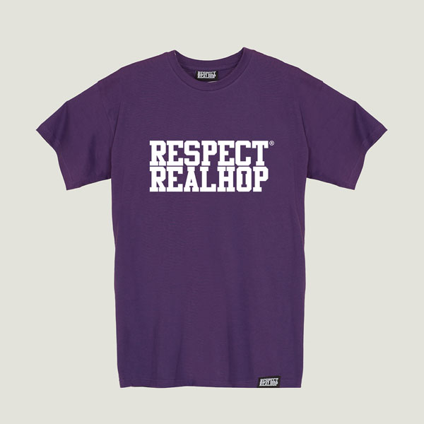 The Movement logo T-shirt [Purple]