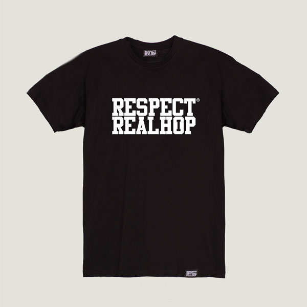 The Movement logo T-shirt [Black]