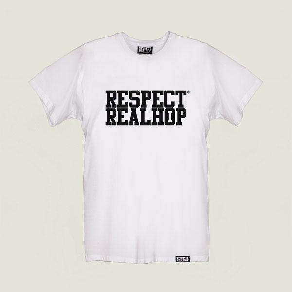 The Movement logo T-shirt [White]