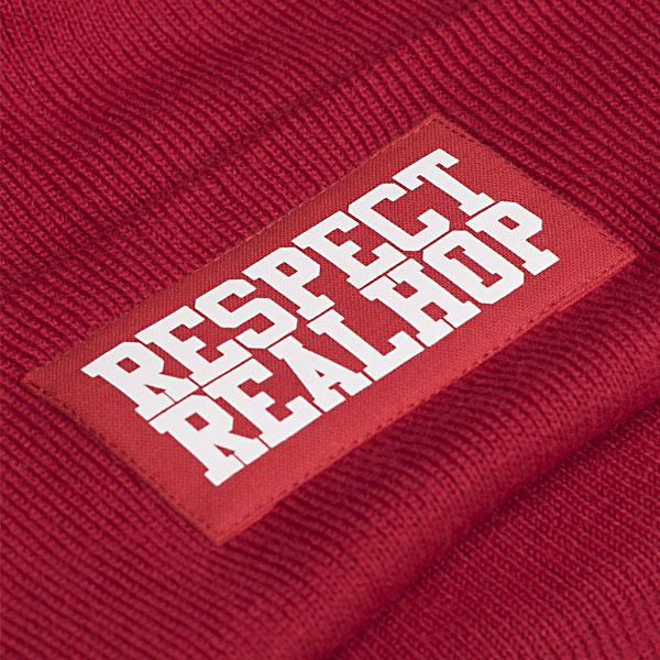 Classic Beanie The Movement logo: Red (ELFOGYOTT)