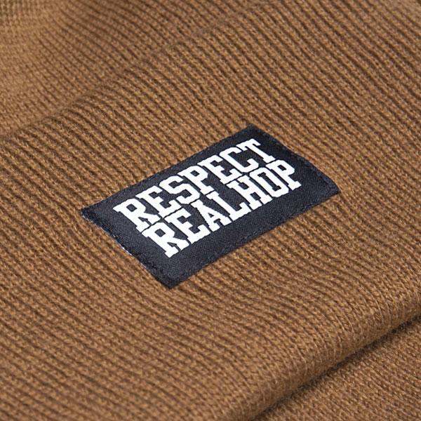 Classic Beanie Solid logo: Tobacco (ELFOGYOTT)