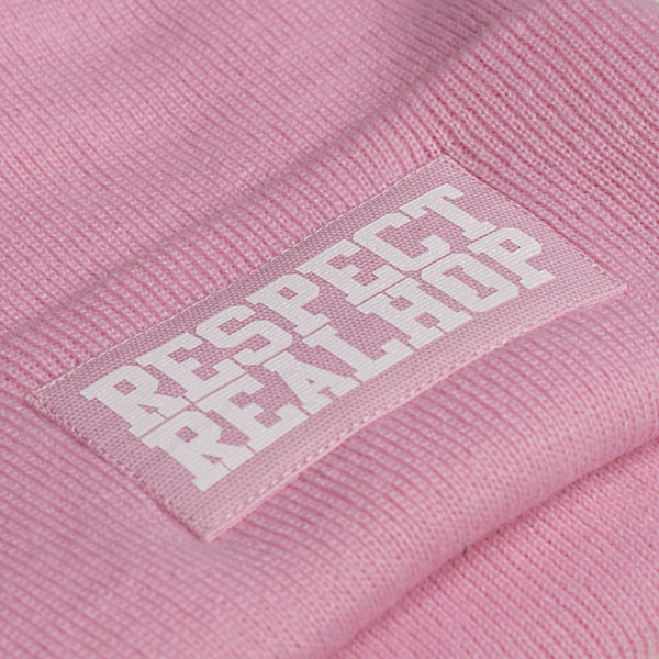 Classic Beanie The Movement logo: Pink (ELFOGYOTT)