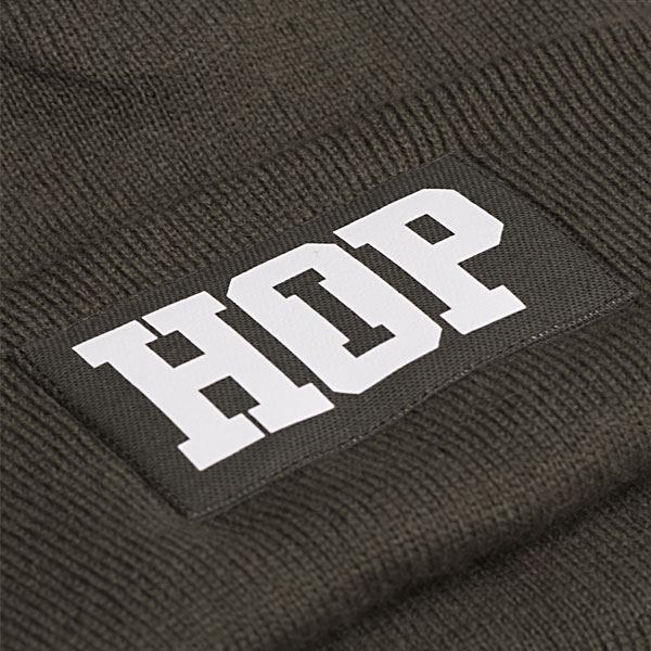 Classic Beanie HipHop logo: Olive