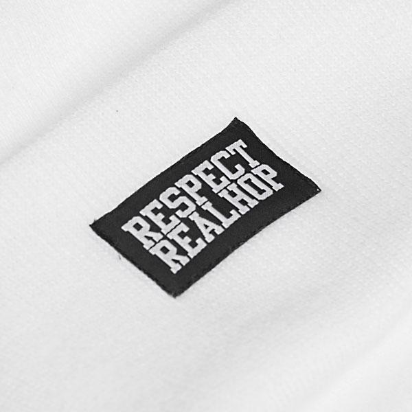 Classic Beanie Solid logo: White