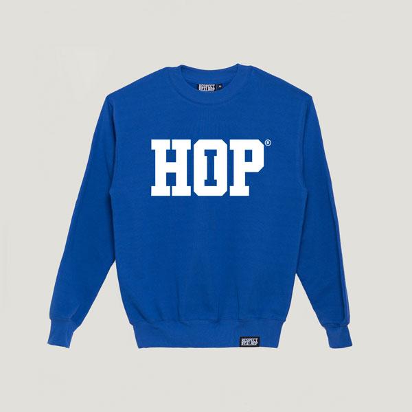 The HipHop logo Crewneck [Skyblue / White]